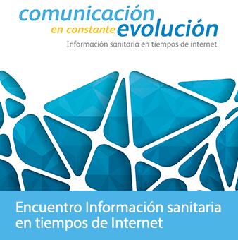 Encuentro Información sanitaria en tiempos de Internet